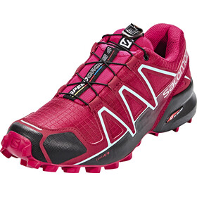 Salomon W's Speedcross 4 Shoes tibetan red/sangria/black